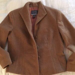 Lafayette 148 Brown Wool Jacket, Fits like 4-6